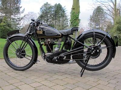 Lot 63-1934 Velocette KSS