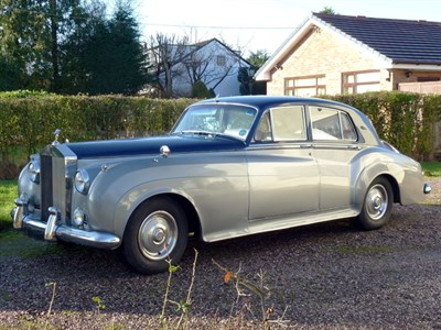 Lot 10-1960 Rolls-Royce Silver Cloud II