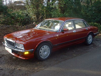 Lot 48-1991 Jaguar XJR 4.0