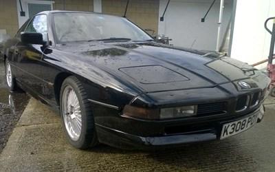 Lot 66-1992 BMW 850i