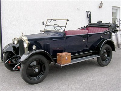 Lot 47-1927 Rover 9 Super Tourer