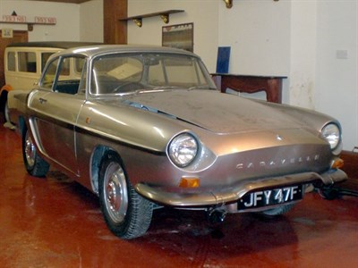 Lot 17 - 1967 Renault Caravelle