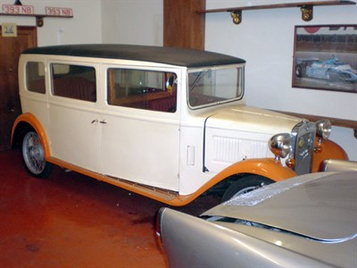 Lot 19-1933 Austin Seven Stretch Limousine