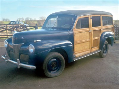 Lot 7-1941 Ford Deluxe Station Wagon