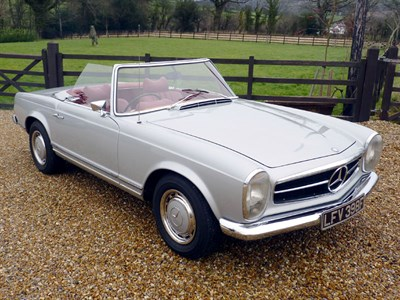 Lot 51-1968 Mercedes-Benz 250 SL