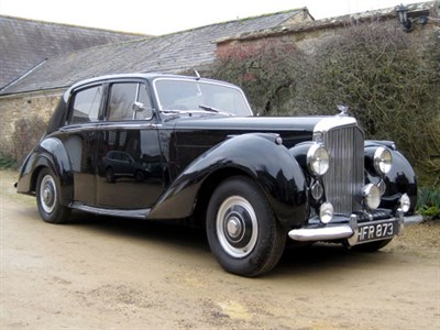 Lot 49-1954 Bentley R-Type Saloon