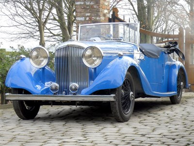 Lot 59-1937 Bentley 4.25 Litre Vanden Plas Style Tourer