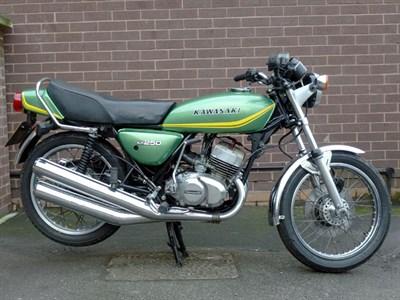 Lot 3-1978 Kawasaki KH250