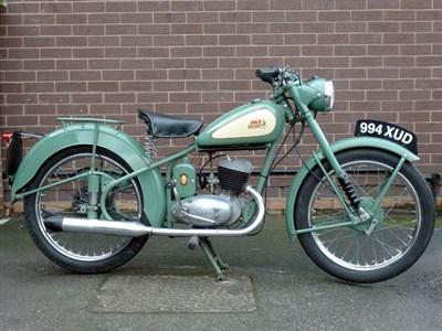 Lot 7-1955 BSA Bantam