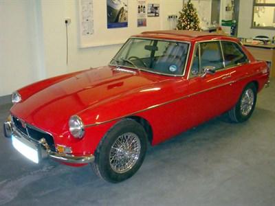 Lot 43 - 1977 MG B GT