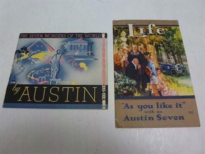 Lot 6 - Two Austin Seven Sales Brochures