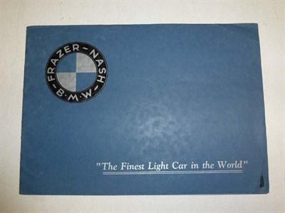 Lot 18 - Frazer-Nash BMW Sales Brochure