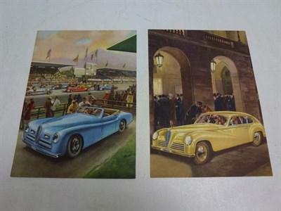 Lot 20 - Two Alfa Romeo Sales Leaflets