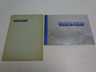 Lot 22 - 'Armstrong Siddeley Special' Sales Brochures