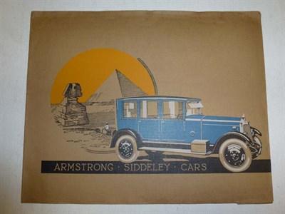 Lot 24 - Armstrong Siddeley Sales Folder