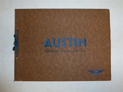 Lot 25 - Two Pre-war Austin Sales Brochures