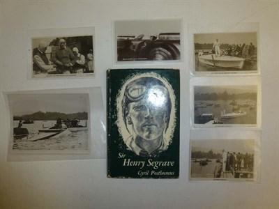 Lot 37 - Henry Segrave Ephemera