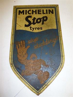 Lot 42 - Michelin Tin Advertising Sign