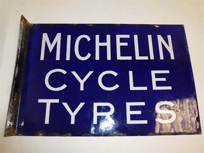 Lot 43 - Michelin Cycle Tyres Enamel Sign