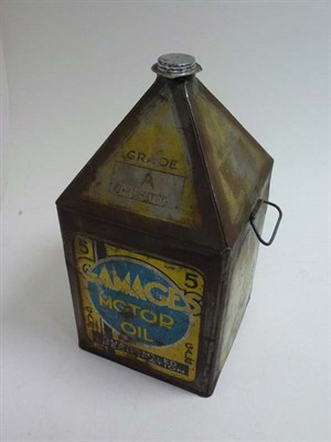 Lot 45 - A Gamages 5 Gallon Can