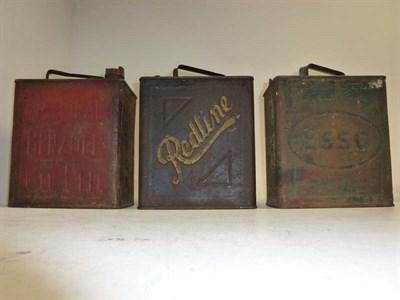 Lot 47 - Three 2-gallon Petrol Cans