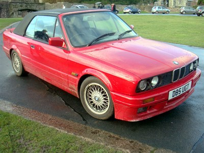 Lot 44-1987 BMW 325i Cabriolet