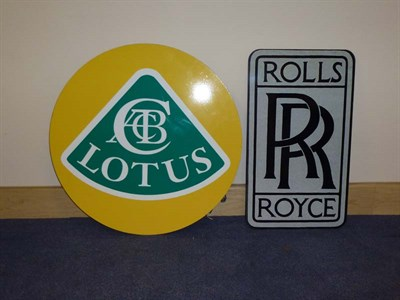 Lot 53 - Two Reproduction Wall Signs