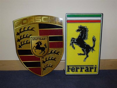 Lot 54 - Two Reproduction Wall Signs