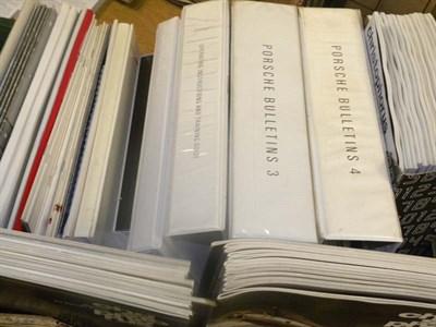 Lot 61 - Quantity of Porsche Literature