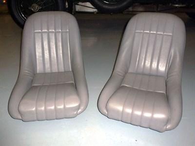 Lot 62 - A Pair of Racing Bucket Seats