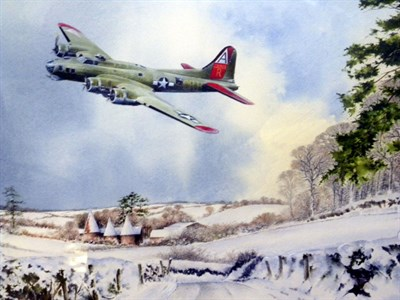 Lot 32 - 'Diversion to Biggin' Original Artwork by Murray