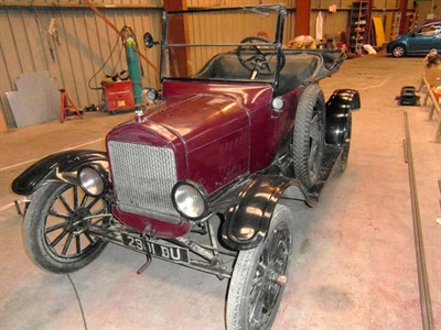 Lot 3-1925 Ford Model T Tourer
