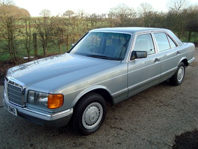 Lot 31-1983 Mercedes-Benz 280 SE