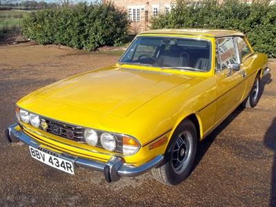 Lot 9 - 1977 Triumph Stag