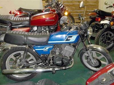 Lot 2-1977 Yamaha RD400