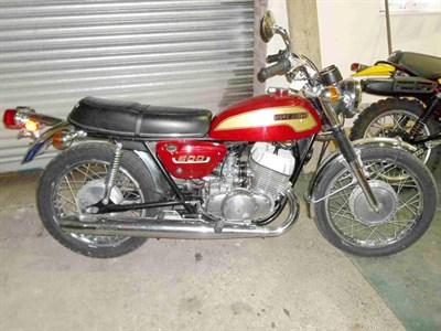 Lot 4-1974 Suzuki T500 Titan