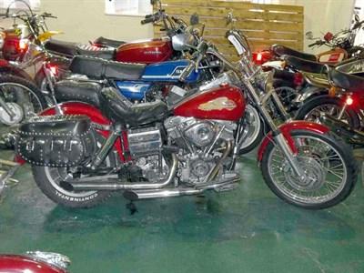 Lot 8-1980 Harley Davidson FLH-80