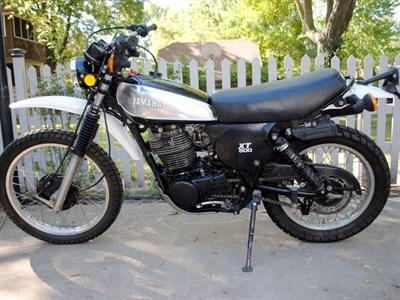 Lot 10-1980 Yamaha XT500