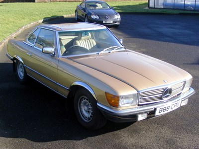 Lot 35-1985 Mercedes-Benz 280 SL