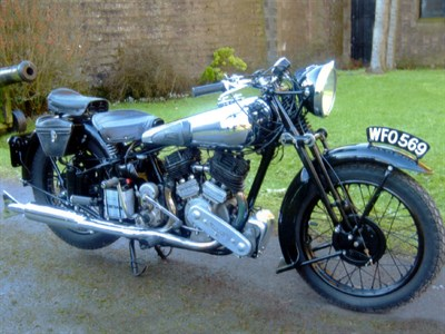 Lot 94 - 1939 Brough Superior SS80