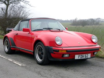 Lot 60-1989 Porsche 911 Carrera Supersport Targa