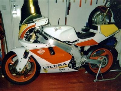 Lot 59-1990/91 Gilera Saturno Piuma Corsa