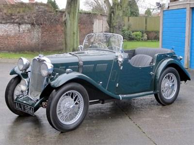 Lot 57 - 1935 Singer Nine Le Mans 'Longtail'