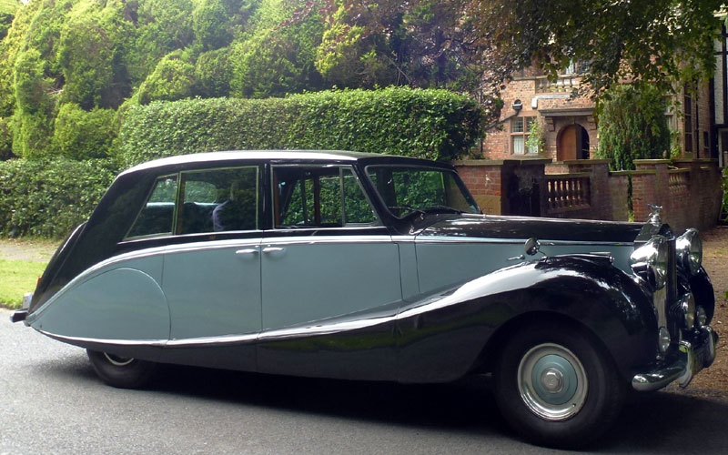 Lot 79-1951/53 Rolls-Royce Silver Wraith Limousine