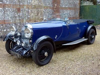 Lot 33 - 1932 Lagonda 2 Litre Continental Tourer