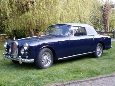 Lot 48 - 1962 Alvis TD21 Drophead Coupe