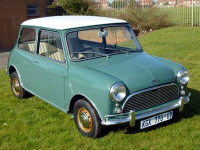 Lot 35 - 1964 Austin Mini Cooper S