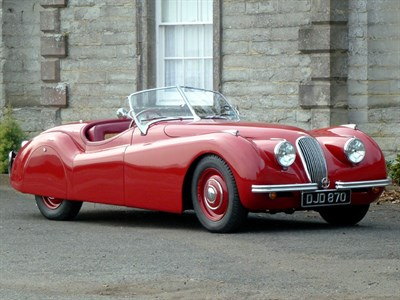 Lot 15 - 1950 Jaguar XK120 Roadster