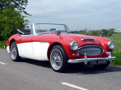 Lot 56-1967 Austin-Healey 3000 MKIII