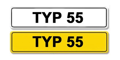Lot 5 - Registration Number TYP 55